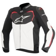 Кожаная куртка Alpinestars GP Pro 2016 Black White Red