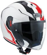 Открытый шлем AGV K-5 Jet Brave White Red