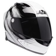 Шлем Lazer Osprey Mystic Pure Glass Black White Grey