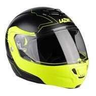 Шлем-модуляр Lazer Monaco Evo Driod Pure Glass Yellow Black
