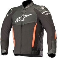 Кожано-текстильная куртка Alpinestars SP-X Black Red