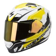 Шлем Scorpion Exo-1200 Air Sharp White Yellow