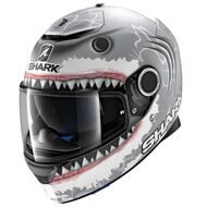 Шлем Shark Spartan Lorenzo White Shark Matt SWA