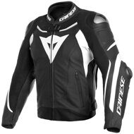 Кожаная куртка Dainese Super Speed 3 Black White White