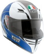 Шлем AGV Skyline Block blue / gunmetal / white