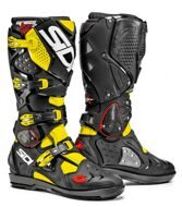 Кроссовые мотоботы Sidi Crossfire 2 SRS Yellow Fluo Black