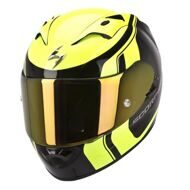 Шлем Scorpion Exo-1200 Air Stream Tour Black Yellow
