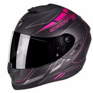 Шлем Scorpion EXO-1400 Air Cup Matt Black Pink