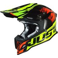 Кроссовый шлем Just1 J12 Dominator Neon Lime Red