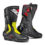 Мотоботы Sidi Vertigo 2 Black Neon Yellow