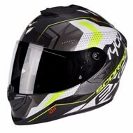 Шлем Scorpion EXO-1400 Air Trika White Black Yellow Fluo