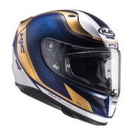 Шлем HJC RPHA 11 Riomont Matt Blue Gold White