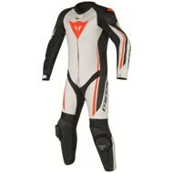 Слитный комбинезон Dainese Assen Perforated White Black Red