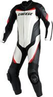 Слитный комбинезон Dainese Racing Estiva White Black Red