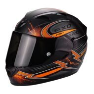 Шлем Scorpion Exo-1200 Air Fulgur Matt Black Orange
