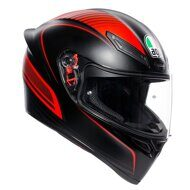 Шлем AGV K1 Warmup Matt Black Red