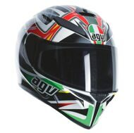 Шлем Agv K-3 SV Rav Black / White / Red / Green PLK