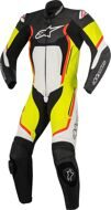 Слитный комбинезон Alpinestars Motegi V2 Black White Red Yellow