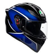 Шлем AGV K1 Qualify Black Blue