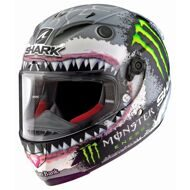 Шлем Shark Race-R Pro Lorenzo White Shark Monster Limited Edition