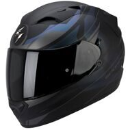 Шлем Scorpion Exo-1200 Air Fulmen Black Blue Chameleon