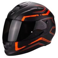 Шлем Scorpion EXO-510 Air Radium Matt Black Orange