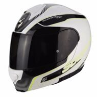 Шлем-модуляр Scorpion Exo-3000 Air Stroll White Black