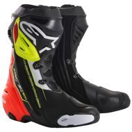 Спортивные мотоботы Alpinestars Supertech R Black Red Yellow