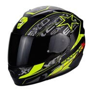 Шлем Scorpion Exo-1200 Air Solis Matt Black Yellow