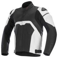 Кожаная куртка Alpinestars Core Black White