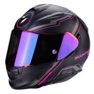 Шлем Scorpion EXO-510 Air Sync Matt Black Pink