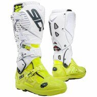 Кроссовые мотоботы Sidi Crossfire 3 SRS Cairoli TC222 White Neon Yellow