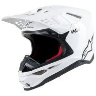 Кроссовый шлем Alpinestars Supertech S-M10 White