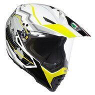 Шлем AGV AX-8 Dual Evo Earth White Black Yellow
