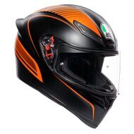 Шлем AGV K1 Warmup Matt Black Orange