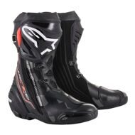 Спортивные мотоботы Alpinestars Supertech R Black Gray Red