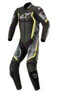 Слитный комбинезон Alpinestars Motegi V2 Black Camo Fluo Yellow