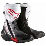 Спортивные мотоботы Alpinestars Supertech R Black Red White
