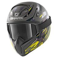 Шлем Shark Vancore 2 Kanhji Matt Grey Yellow
