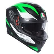 Шлем AGV K-5 S Marble Matt Black White Green