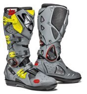 Кроссовые мотоботы Sidi Crossfire 2 SRS Black Grey Yellow Fluo