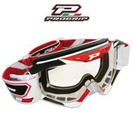 мотоочки Progrip 3450 Top Line white/red