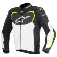 Кожаная куртка Alpinestars GP Pro 2016 Black White Yellow