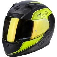 Шлем Scorpion EXO-710 Air Mugello Matt Black Yellow Grey