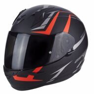 Шлем Scorpion EXO-390 Hawk Matt Black Red