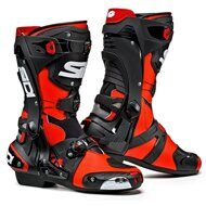 Мотоботы Sidi Rex Red Black