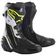 Спортивные мотоботы Alpinestars Supertech R Black Yellow White