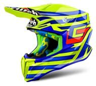 Кроссовый шлем Airoh Twist Cairoli Qatar Yellow Gloss