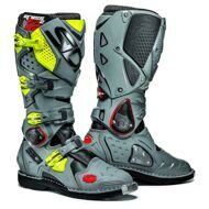 Кроссовые мотоботы Sidi Crossfire 2 Black Gray Yellow Fluo