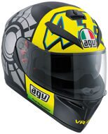 Шлем Agv K-3 SV Winter Test 2012 Valentino Rossi Top
